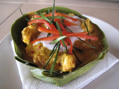 Cambodian fish-amok