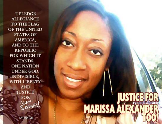 JUSTICE FOR MARISSA ALEXANDER TOO