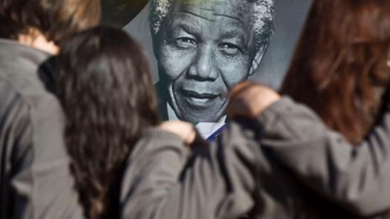 APTOPIX South Africa Mandela