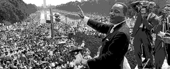 MLK MARCH ON WASHINGTON