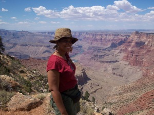 Me visiting the Grand Canyon.