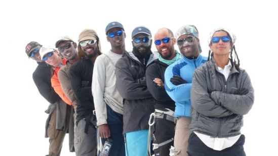 African American climbers of Expedition Denali.