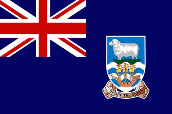 FALKLAND ISLANDS FLAG.