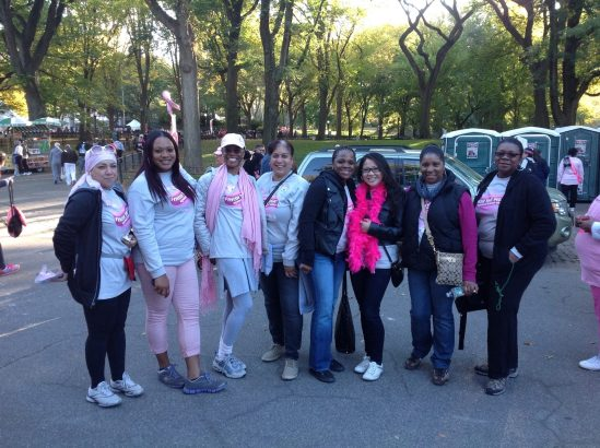 lolly and HHC cancer walk