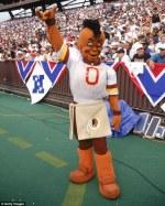redskins mascot