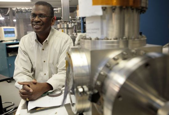 Scientist and inventor Lonnie Johnson: At home in the lab as well as the playground.