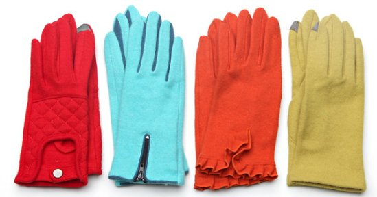 Echo Touch Gloves are made to work well with touch-screen devices.