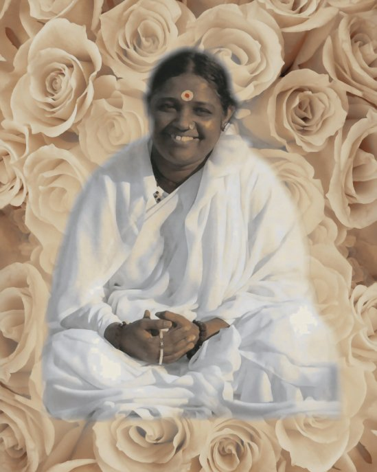 Mata Amritanandamayi, Patron Saint Of Hugs.