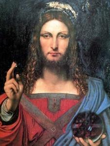 'Savior of the World' by Leonardo Da Vinci.