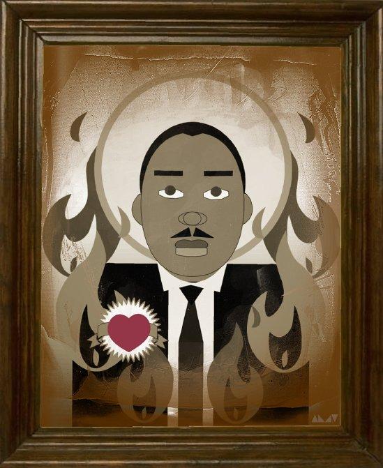 MLK SEPIA W HEART sig