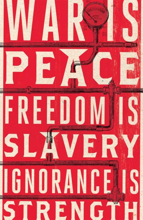 2009 Penguin UK Anniversary Edition of George Orwell's 1984.