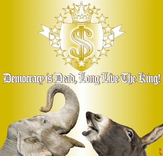 DEMOCRACY IS DEAD