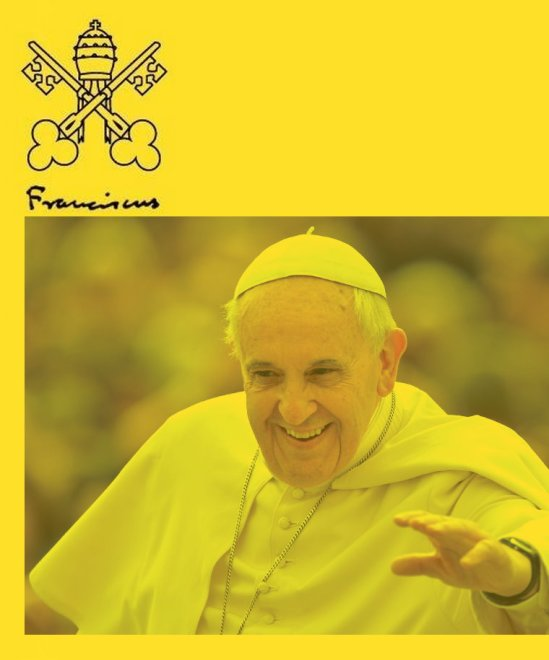 POPE TALKS SQUARE BIZ