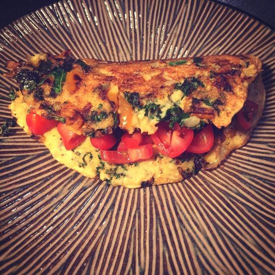 garbanzo-omlet