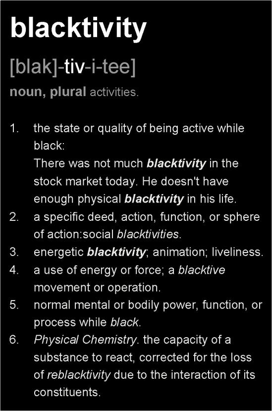 BLACKTIVITY